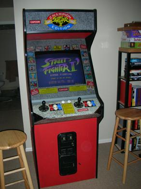 Street Fighter 2 Championship Edition Cabinet